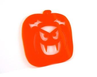 Halloween Ornament Vampire Pumpkin Carving Decoration Hand Cut Acrylic