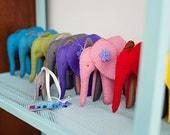 Felt Elephant - pdf sewing pattern