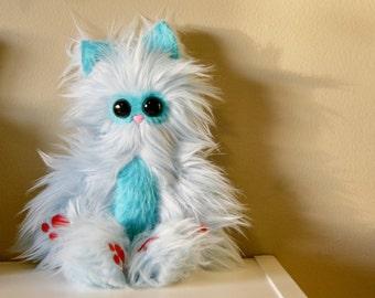Mr. Whiskers Handmade Huggable Plush - Made to Order - Teetoo