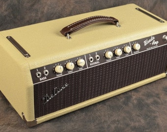 "Handwired '60 Blonde Bassman Custom Clone Guitar Tube Amp Head - The ""Blondie"""