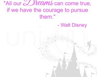 Walt Disney Quote Print, Digital Art, Wall Art, 8x10 Print, INSTANT DOWNLOAD