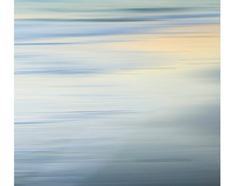 Art,Nature Photography, Summer, Beach Photography, Ocean, Nature, Coastal, Turquoise, Soft Blue, Abstract, Cottage, Fine Art Print