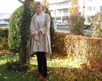 Noble reversible jacket natural beige - size M