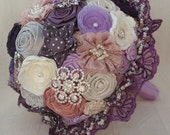 Something To Keep Fabric Embellished Bouquet.