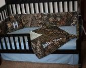 Items Similar To Custom 4 Piece Mossy Oak Bedding Hunter