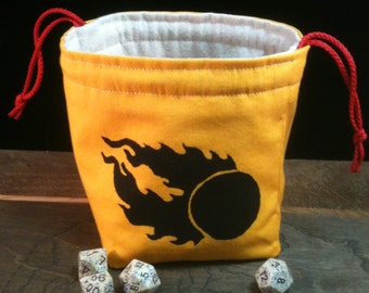 Twin-tailed Comet Dice Bag