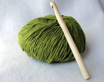 Large Bamboo Crochet Hook, Bamboo crochet hook, size P/10mm