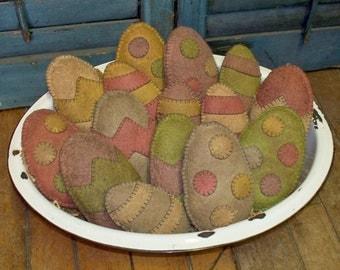 Prim Easter Eggs - Set of 3