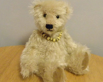 50% Off List Price - Artist Bear  - Mohair Bear - Collectors Bear - 12 inch Bear - Made for Pud Bears - Fuzz