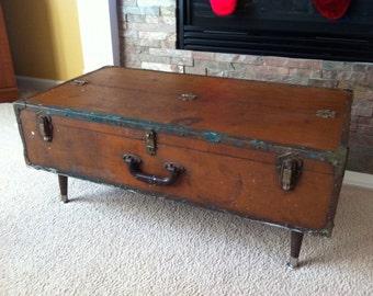 Vintage Tool Chest Coffee Table Repurposed