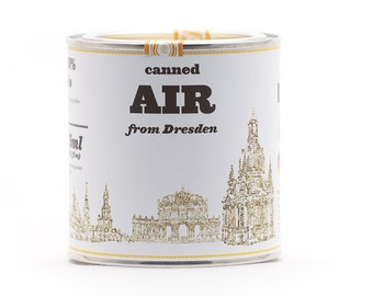Original Canned Air From Dresden, Germany, gag souvenir, gift, memorabilia