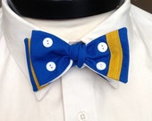 The Walt - Our Disney Inspired bowtie in Donald Duck colors
