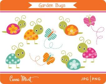 Garden Bugs Clip Art