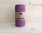 Airmail Tri-color Baker's Twine (100m)
