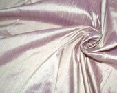 Silk Dupioni in Sea shell pink with lavender - DEX 245 A