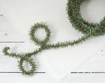 Wired Pine Rope - 25 Feet, Christmas Trim Greenery Garland