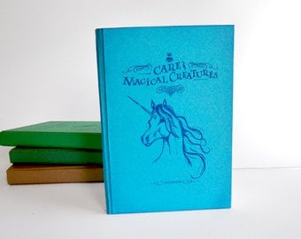 Care of Magical Creatures Unicorn Notebook