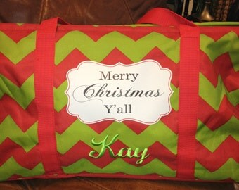 Merry Christmas Y'all! Tote
