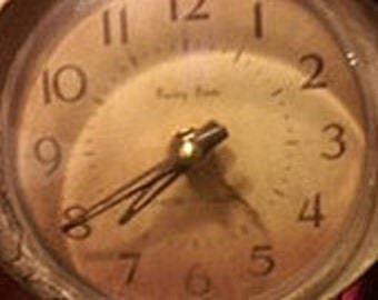 Vintage Alarm Clock Westclox Baby Ben