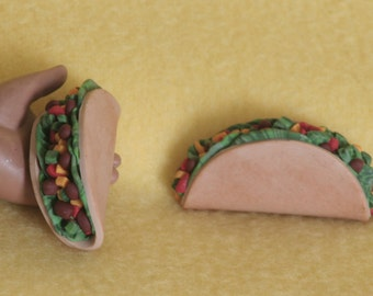1 taco doll food for American Girl dolls