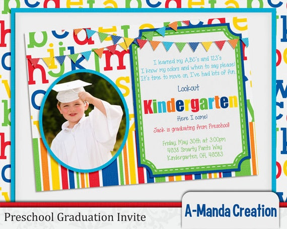 free printable preschool graduation invitations a manda creation preschool graduation printables 570