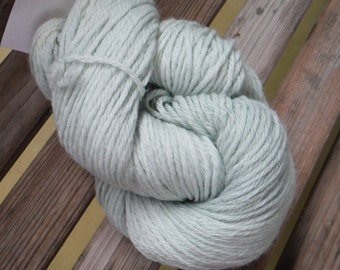 LIGHT WORSTED Weight Yarn - Sage - Mary's Little Lamb by Farmhouse - 2.5 oz / 200 yards