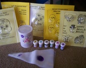 Day of the Dead Sugar Skull Industrial Kit - One Mold Included - Make Sugar Skulls at Home