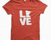 Love My State: Minnesota made-to-order tshirt