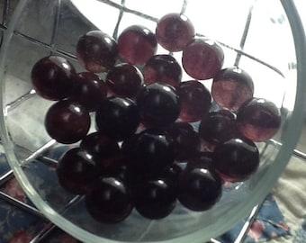 Vintage Grape Purple Glass Marbles