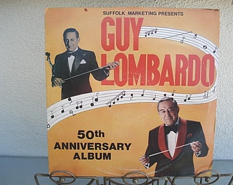 Guy Lombardo, Vintage LP, Music, Vintage Record, Music, Vintage Lombardo, Guy Lombardo Lp,  Record, Old Time Music