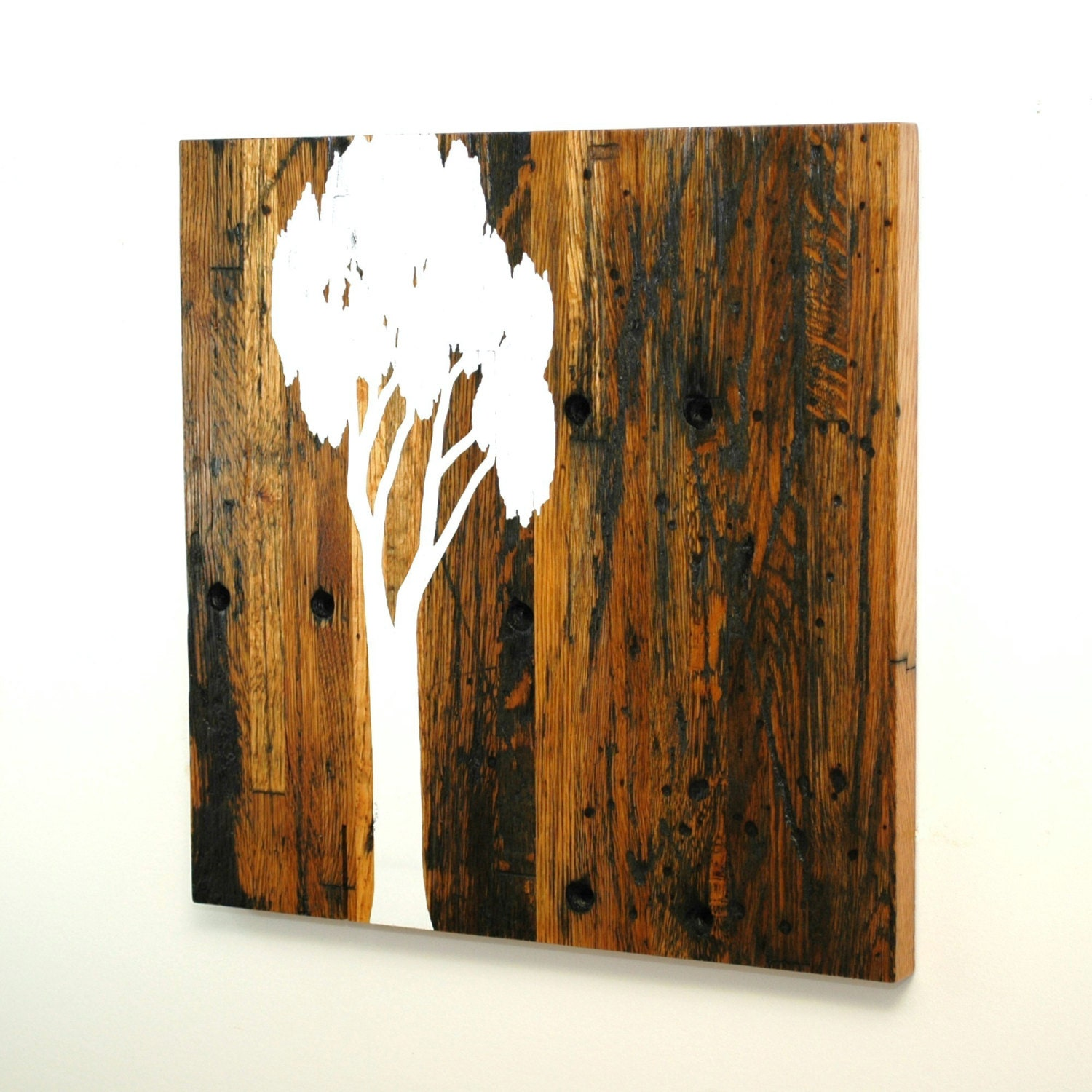 Reclaimed wood wall art sale 30 off by christopheroriginal Reclaimed wood wall art for sale