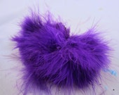 wooly bugger marabou bright purple MRWD-64 Craft feathers