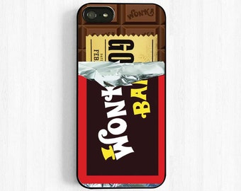 Willy Wonka Chocolate Bar With Golden Ticket Inside, Wonka Bar iPhone 7 6 plus, 5s 5c 4s Case, Samsung Galaxy s5 s4 s3, Note 3 Case UL14