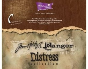Core'Dinations-Tim Holtz and Ranger Distress Collection 12x12 Cardstock