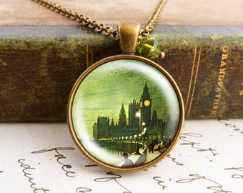 Along the Thames - Vintage Necklace