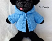 Knitted Pug Doll - Dr. Dooley 11 in