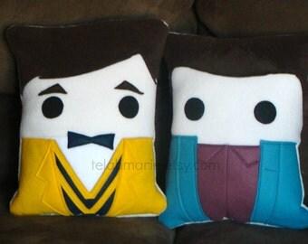 Blaine Anderson, Glee, Kurt, cushion, throw pillow
