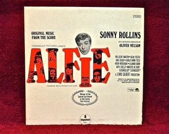 ALFIE - Original Music From the Score - 1965 Vintage Vinyl Gatefold Record Album