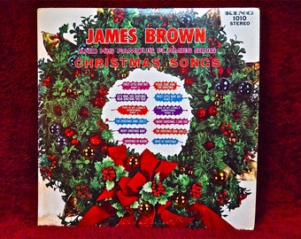 CHRISTMAS...James BROWN and His FAMOUS FLAMEs - 1967 Vintage Vinyl Record Album