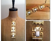 1970s Richelieu Runway Totem Necklace 70s