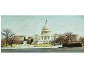 Washington DC photography,capitol, panoramic 8x16 fine art print