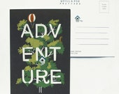 Adventure Postcard 1pc