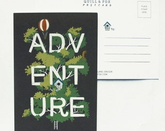 Adventure Postcard 1pc