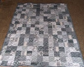 Twin Size Patchwork Quilt - Supply your own fabrics!!!