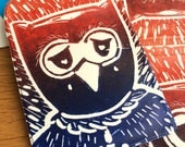 Owl Print Oyster Card Wallet