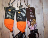 Dog Poop Bag Holder His and Hers