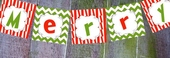 Merry Grinchmas Hanging Banner