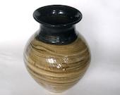 Woodgrain Vase