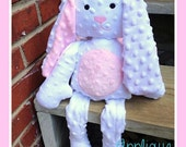 Sweet Baby Bunny Plushie ITH Design