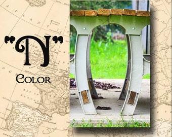 Letter N Alphabet Photography Color 4 x 6 Photo Letter Unframed